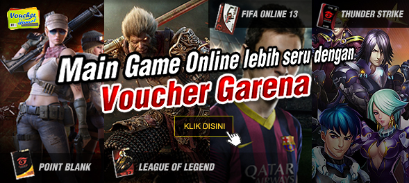 Game Online Voucher Garena